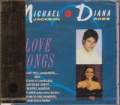 DIANA ROSS & MICHAEL JACKSON Love Songs JAPAN CD
