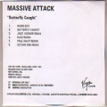 MASSIVE ATTACK Butterfly Caught USA CD5 Test Pressing