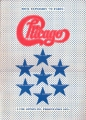 CHICAGO 1972 JAPAN Tour Program w/Ticket Stub