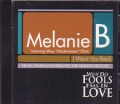 MELANIE B feat.MISSY ELLIOTT I Want You Back USA CD5 Promo