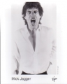 MICK JAGGER Goddess In The Doorway USA Promo Photo