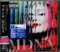 MADONNA MDNA JAPAN CD