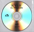 KYLIE MINOGUE All The Lovers USA DVD Promo Only