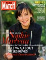 SOPHIE MARCEAU Paris Match (10/21-27/10) FRANCE Magazine