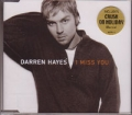 DARREN HAYES I Miss You AUSTRALIA CD5 w/Mixes