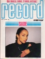 SADE Record Mirror (5/12/84) UK Magazine