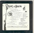 CYNDI LAUPER Sisters Of Avalon USA CD Promo