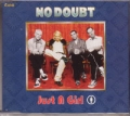 NO DOUBT Just A Girl UK CD5