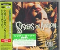 CYNDI LAUPER Sisters Of Avalon JAPAN CD w/Extra Track