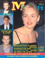 SHARON STONE Movie Star (8/93) JAPAN Magazine