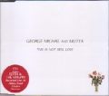 GEORGE MICHAEL This Is Not Real Love feat. Mutya EU CD5 w/2 Tracks