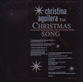 CHRISTINA AGUILERA The Christmas Song USA 12