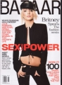BRITNEY SPEARS Harper's Bazaar (8/01) USA Magazine