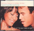 WHITNEY HOUSTON & ENRIQUE IGLESIAS Could I Have This Kiss Forever EU CD5