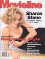 SHARON STONE Movieline (9/96) USA Magazine