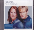 H & CLAIRE All Out Of Love UK CD5 w/Remixes