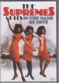 THE SUPREMES Hits: In The Name Of Love HOLLAND DVD