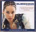 ALICIA KEYS Fallin' EU CD5 Promo w/2 Versions