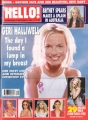 GERI HALLIWELL Hello (10/2/01) UK Magazine