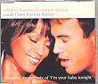 WHITNEY HOUSTON & ENRIQUE IGLESIAS Could I Have This Kiss Forever UK CD5