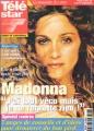 MADONNA Tele Star (9/4-10/99) FRANCE Magazine