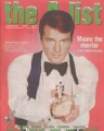 JAMES BOND 007 The A List (12/22-28/2000) UK Magazine ROGER MOORE
