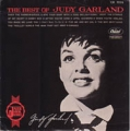 JUDY GARLAND The Best Of JAPAN LP w/Red Vinyl