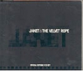 JANET JACKSON Velvet Rope EU CD Tour Souvenir Edition w/Bonus CD