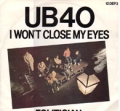 UB40 I Won't Close My Eyes UK 12''