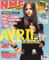 AVRIL LAVIGNE NME (3/22/03) UK Magazine