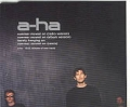 A-HA Summer Moved On GERMANY CD w/Remix