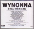 WYNONNA Sing USA CD5 Promo w/9 Mixes