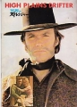 HIGH PLAINS DRIFTER Original Japan Movie Program RARE!