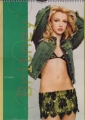 BRITNEY SPEARS 2002 UK Calendar