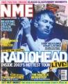 RADIOHEAD NME (5/24/03) UK Magazine