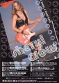 SHERYL CROW C`mon C`mon JAPAN 2002 PROMO TOUR FLYER