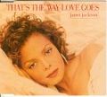 JANET JACKSON That's The Way Love Goes UK CD5 w/Remixes