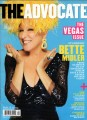 BETTE MIDLER The Advocate (3/25/08) USA Magazine