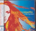 ALANIS MORISSETTE Under Rug Swept JAPAN CD w/2 Bonus Tracks