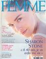 SHARON STONE Femme (7-8/98) FRANCE Magazine