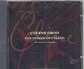 CELINE DION The Power Of Celine USA CD Promo Sampler w/6 Tracks