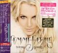 BRITNEY SPEARS Femme Fatale JAPAN CD w/Poster