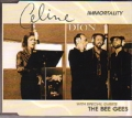 CELINE DION Immortality AUSTRALIA CD5 w/Special Guests The Bee Gees