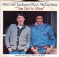 MICHAEL JACKSON/PAUL McCARTNEY The Girl Is Mine USA 7