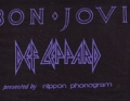 BON JOVI JAPAN Promo Only T-Shirt