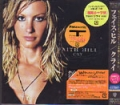 FAITH HILL Cry JAPAN CD w/Bonus Track & Outer Slip Case