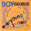 BOY GEORGE Everything I Own UK 7
