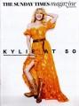 KYLIE MINOGUE The Sunday Times Magazine (2/18) UK Magazine