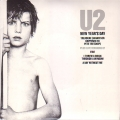 U2 New Year's Day UK Double 7'' w/3 Live Tracks
