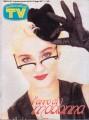MADONNA Sorrisi E Canzoni TV (6/21-27/87) ITALY Magazine